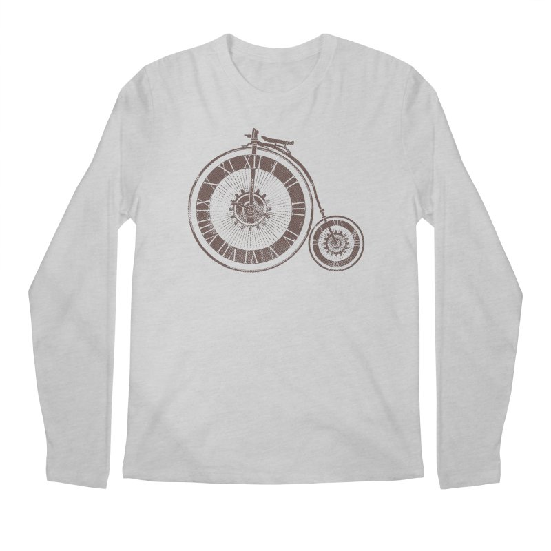 Time Cycle Men's Regular Longsleeve T-Shirt by GED WORKS