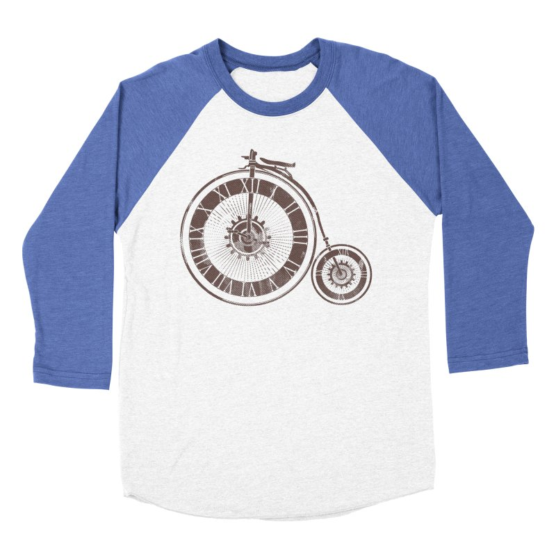 Time Cycle Men's Baseball Triblend T-Shirt by GED WORKS