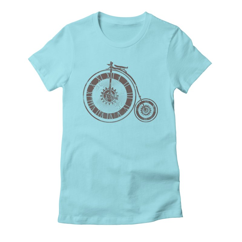 Time Cycle Women's Fitted T-Shirt by GED WORKS