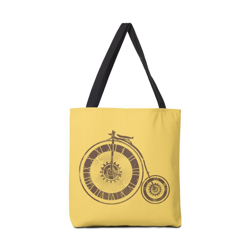 Time Cycle Accessories Tote Bag Bag by GED WORKS