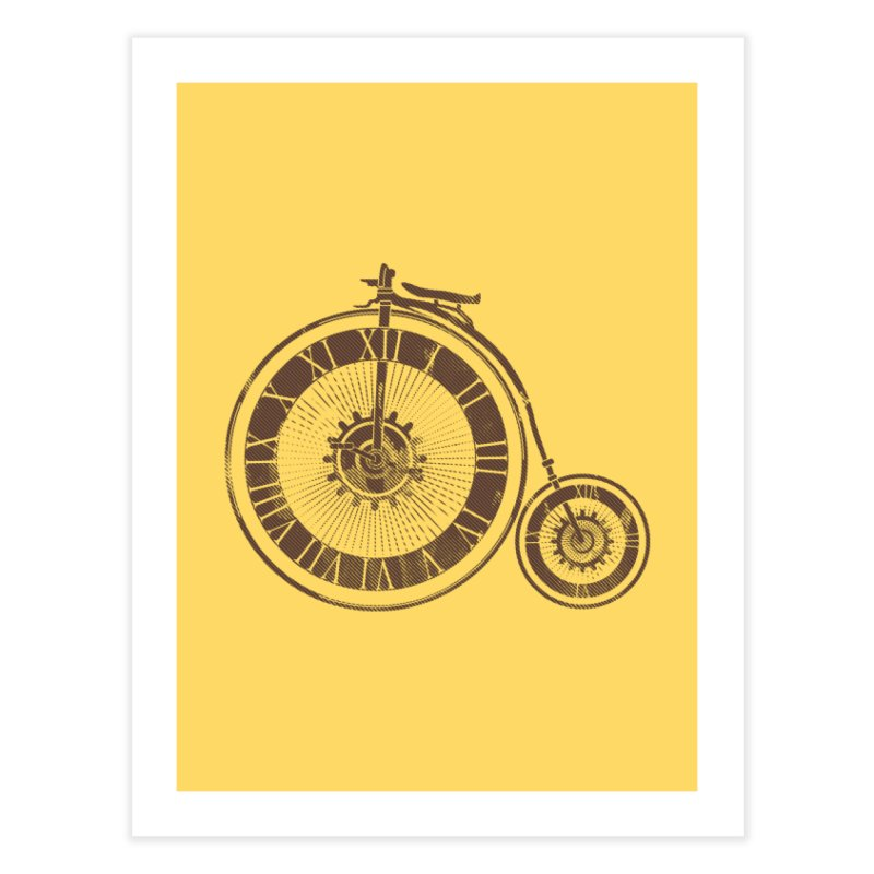 Time Cycle Home Fine Art Print by GED WORKS