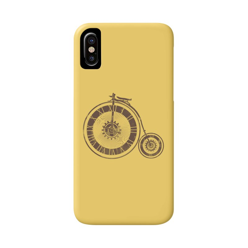 Time Cycle Accessories Phone Case by GED WORKS