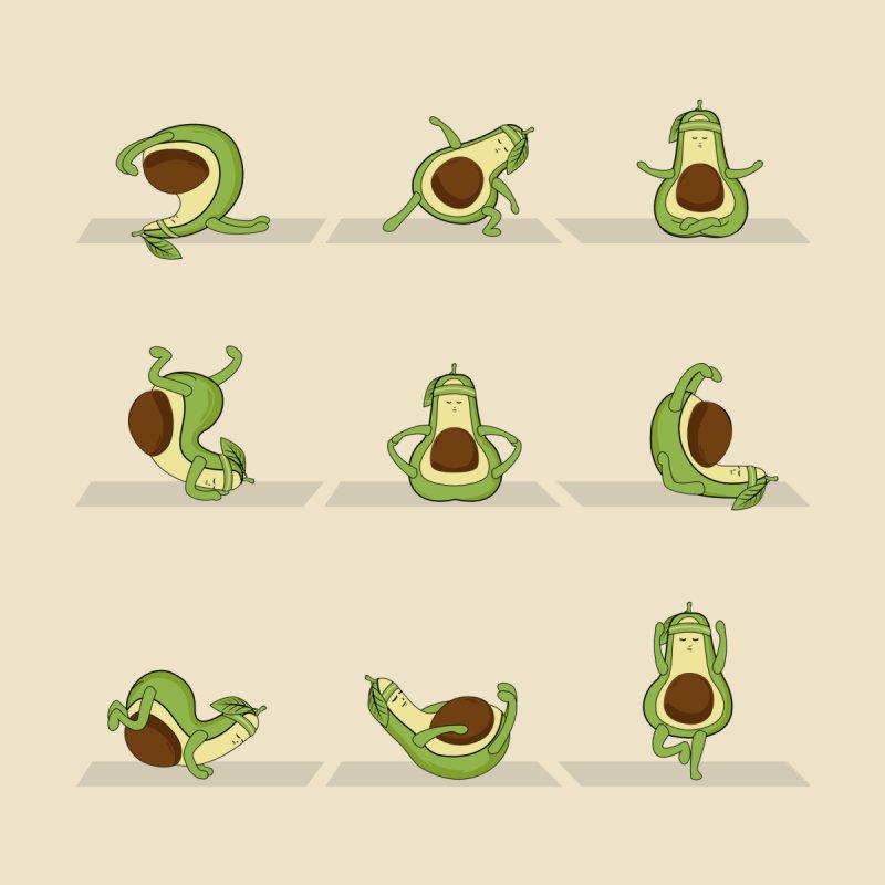 Avocado Yoga Women's Tank by GED WORKS