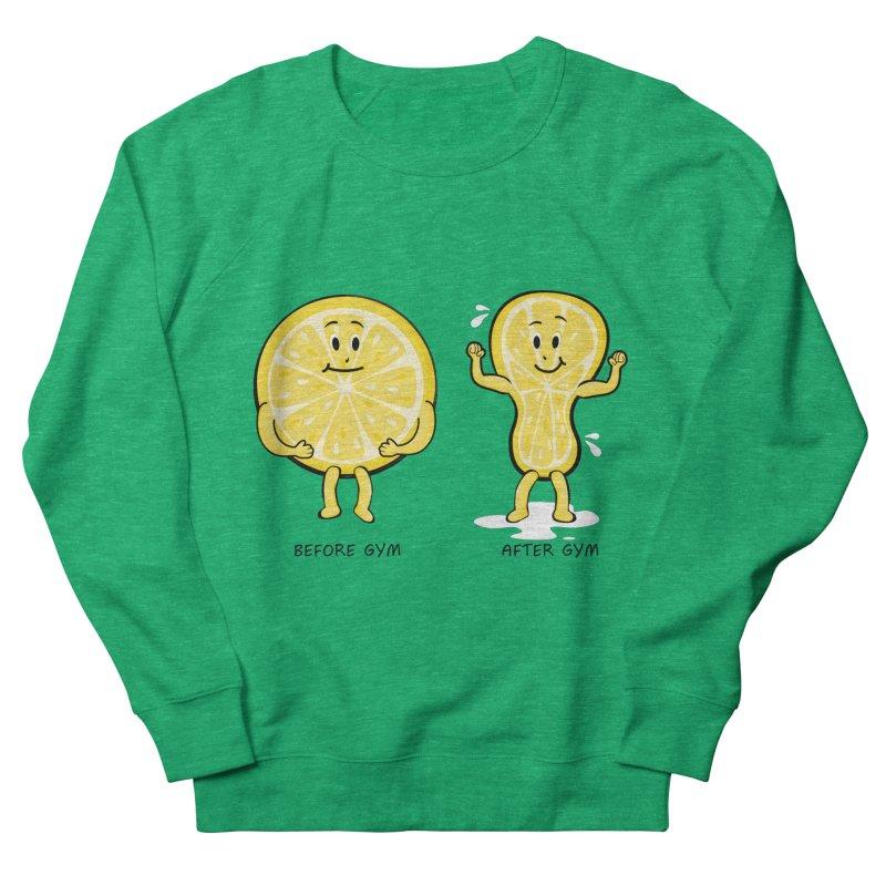Lemon Gym Women's Sweatshirt by GED WORKS