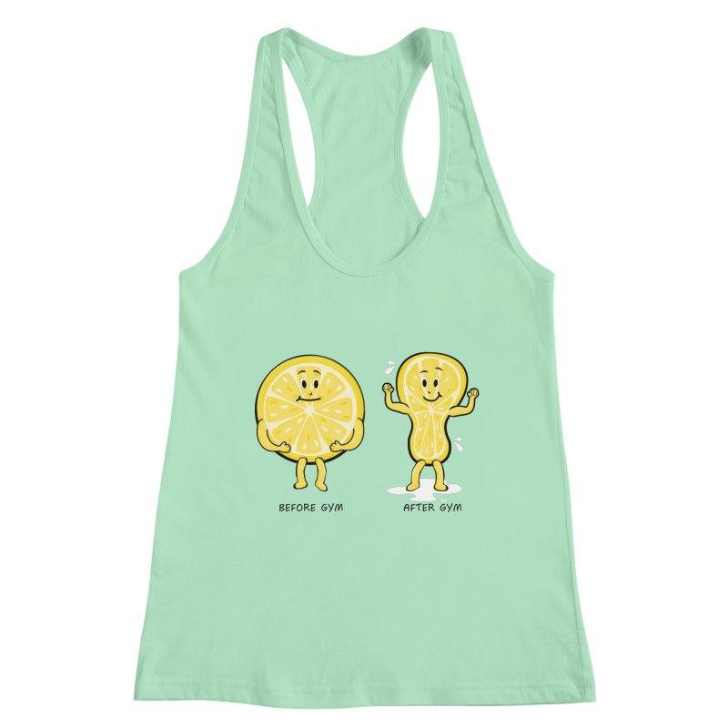 Lemon Gym Women's Tank by GED WORKS