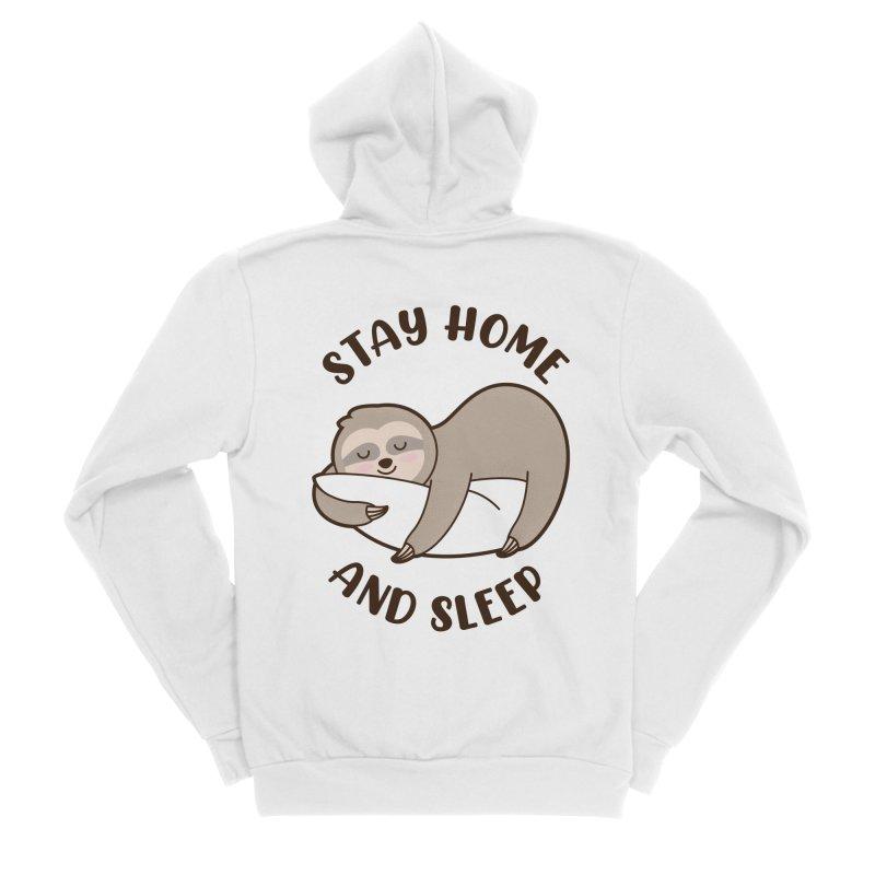 Sleepy Sloth Women's Zip-Up Hoody by GED WORKS