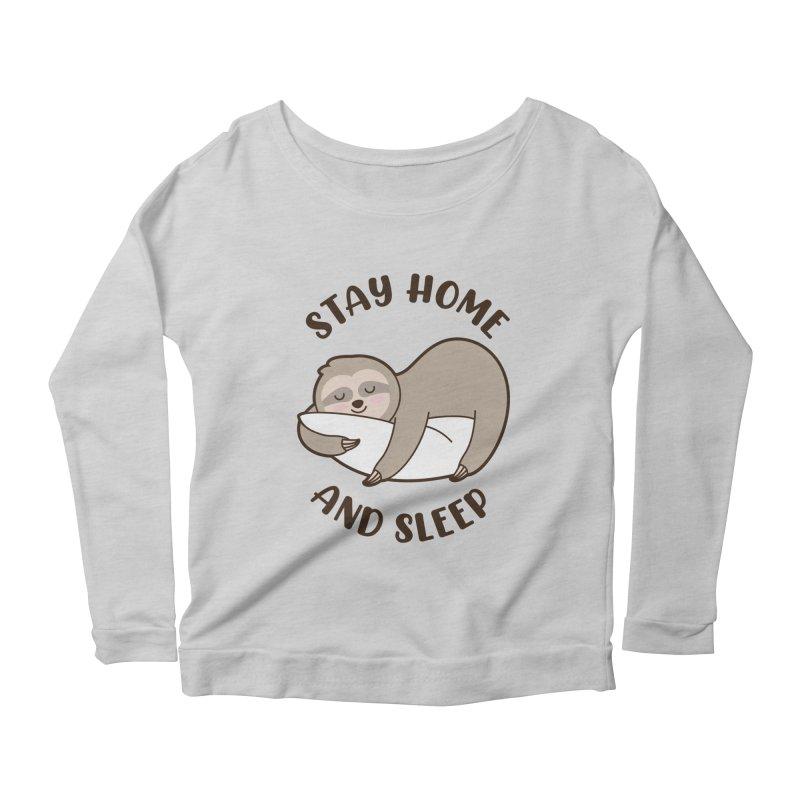 Sleepy Sloth Women's Longsleeve T-Shirt by GED WORKS