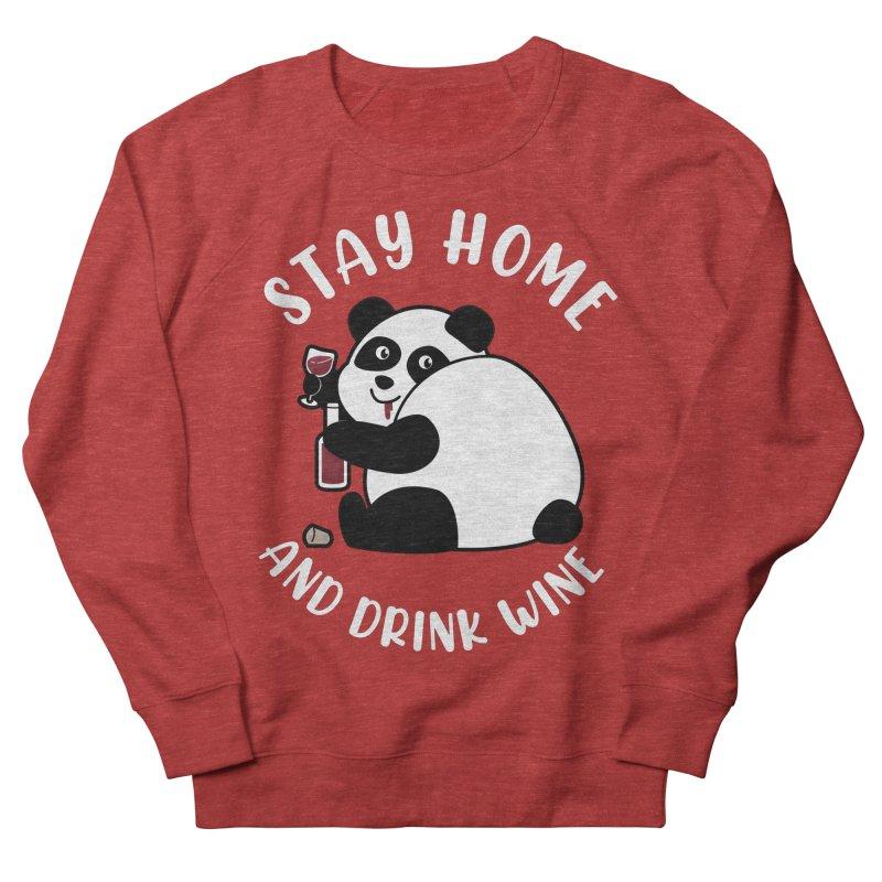 Panda Drinks Wine Women's Sweatshirt by GED WORKS