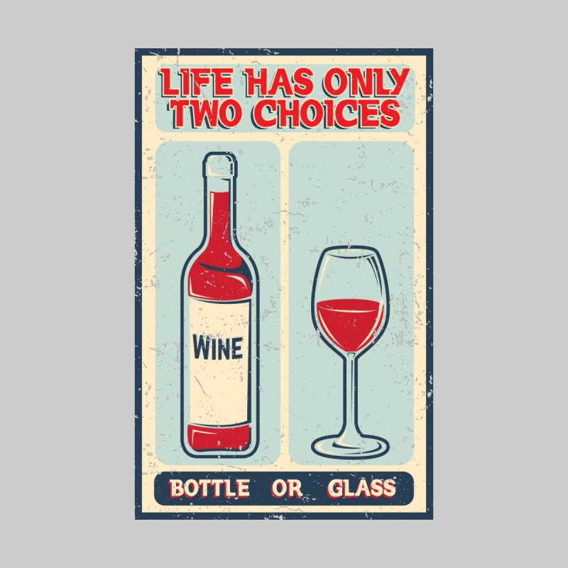 Life is A Wine Women's Longsleeve T-Shirt by GED WORKS