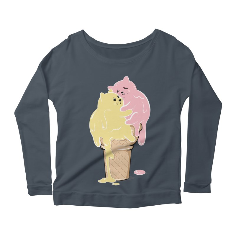 Melting Cats Women's Longsleeve T-Shirt by GED WORKS