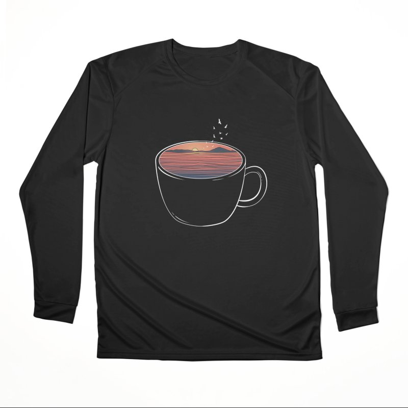 A Cup of Sunset Women's Longsleeve T-Shirt by GED WORKS
