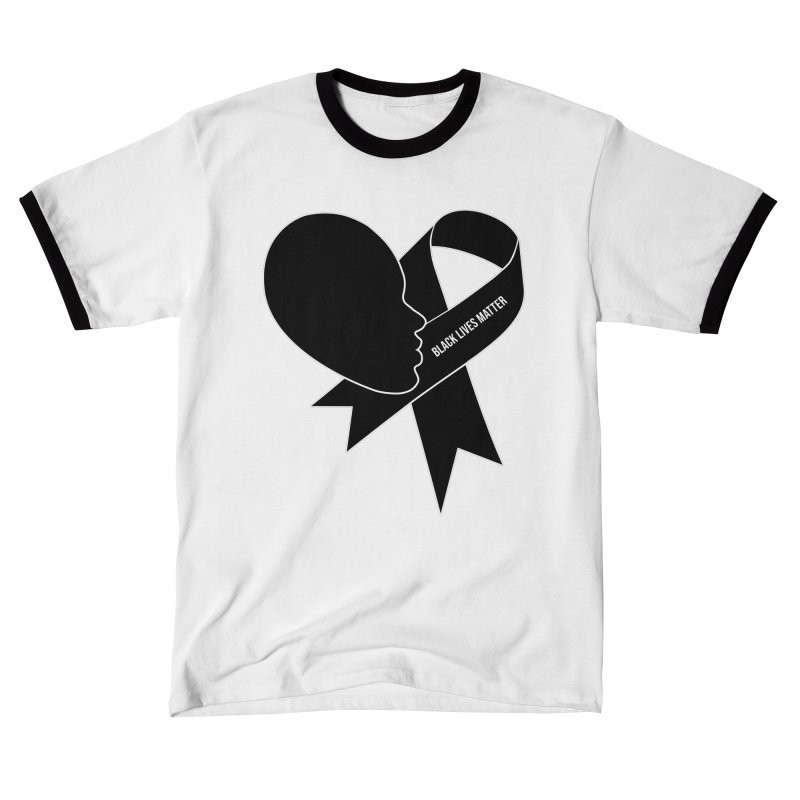 Black Lives Matter Heart Women's T-Shirt by GED WORKS