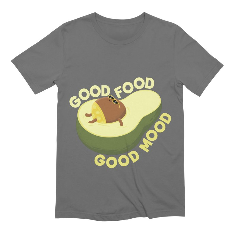 Avocado Good Food Men's T-Shirt by GED WORKS