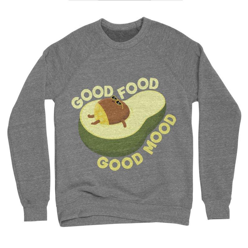 Avocado Good Food Men's Sweatshirt by GED WORKS