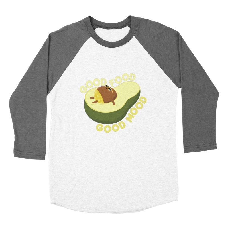 Avocado Good Food Women's Longsleeve T-Shirt by GED WORKS