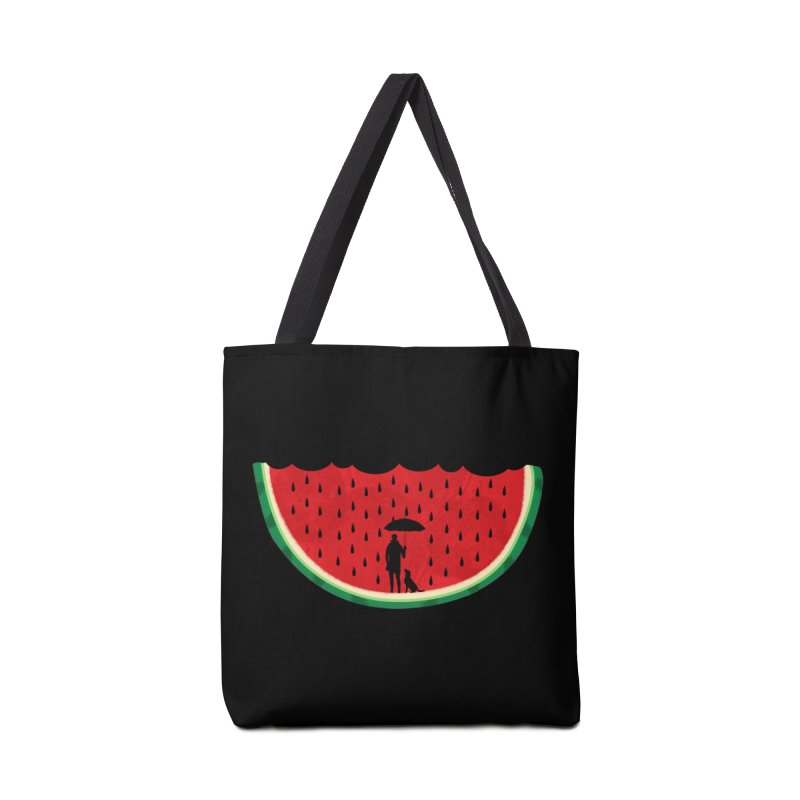 Watermelon Rain Accessories Bag by GED WORKS