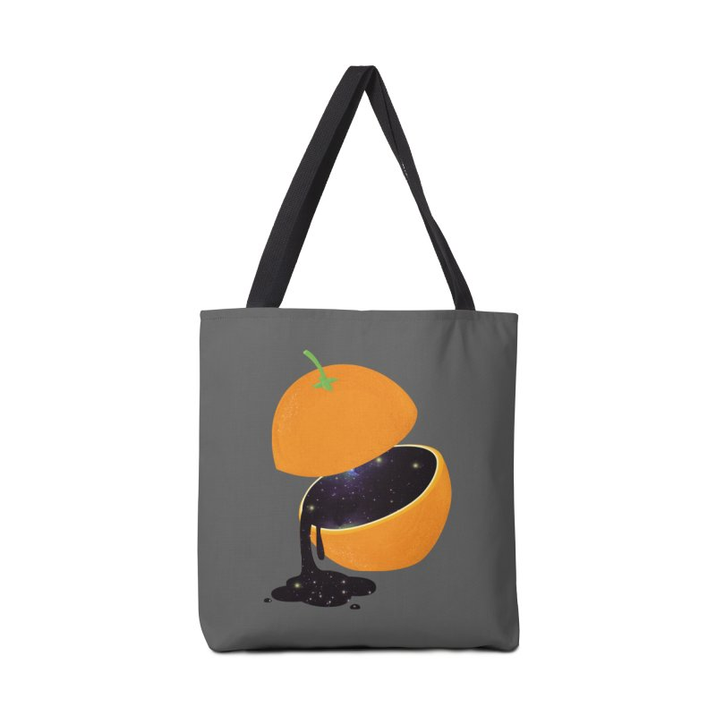 Orange Universe Accessories Bag by GED WORKS