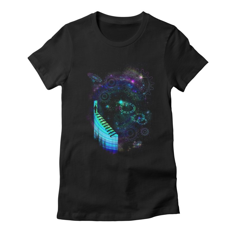 Time Traveler Women's T-Shirt by GED WORKS