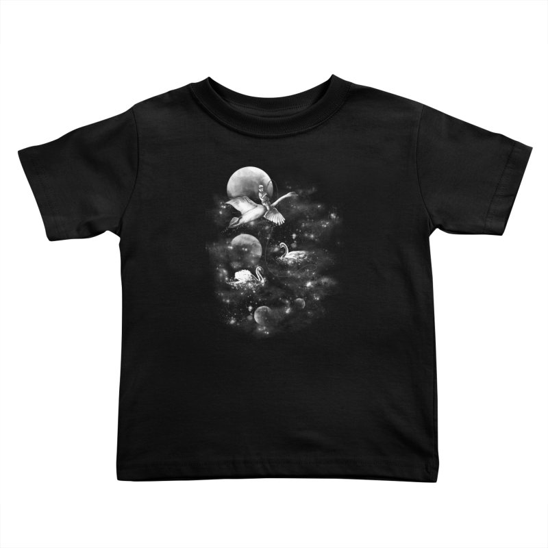 Longest Night Kids Toddler T-Shirt by GED WORKS