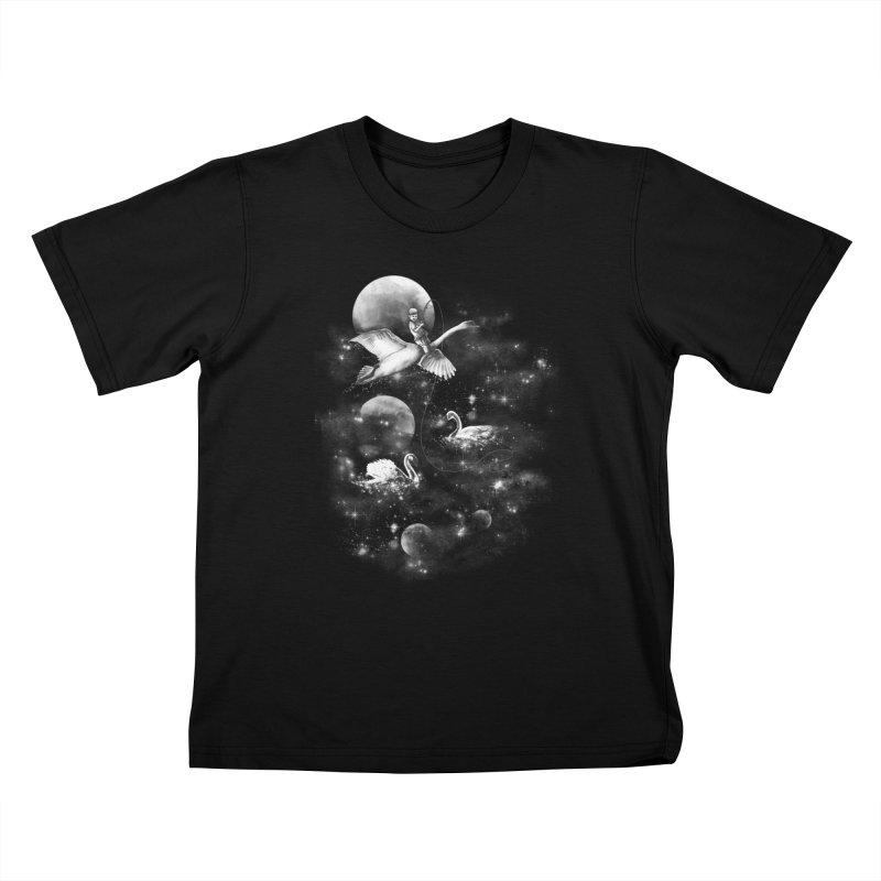 Longest Night Kids T-Shirt by GED WORKS