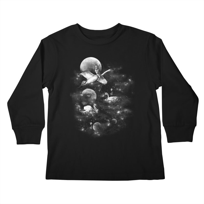 Longest Night Kids Longsleeve T-Shirt by GED WORKS