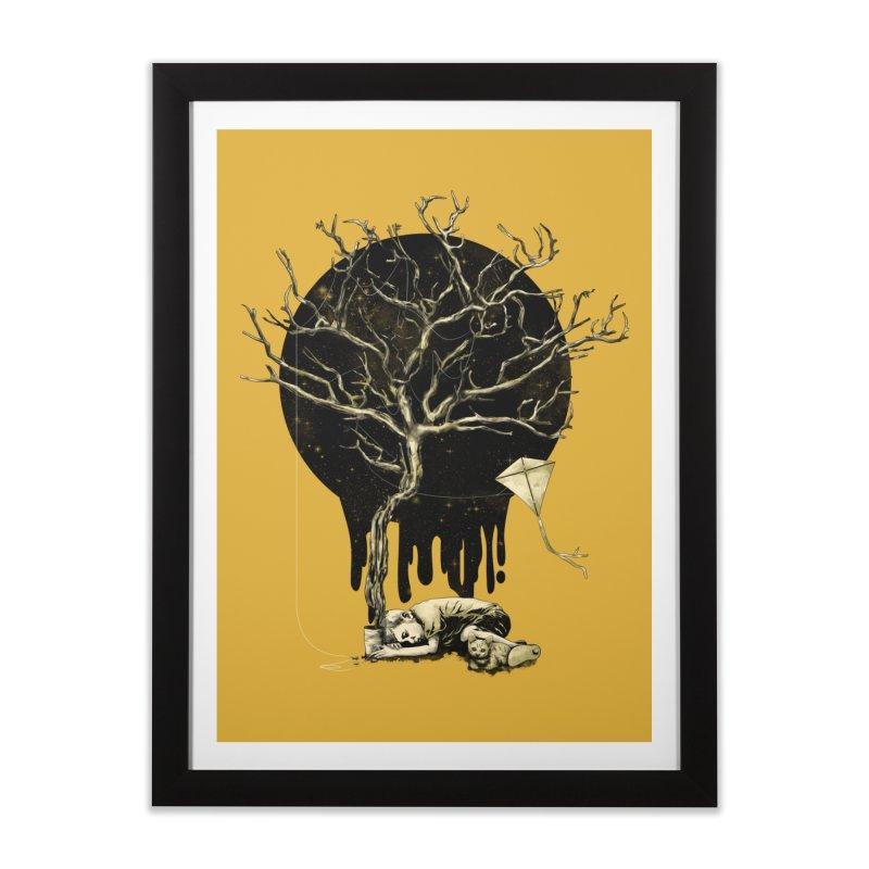String of Hope Home Framed Fine Art Print by GED WORKS