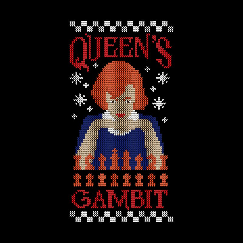 The Queen of Chess Men's T-Shirt by GED WORKS