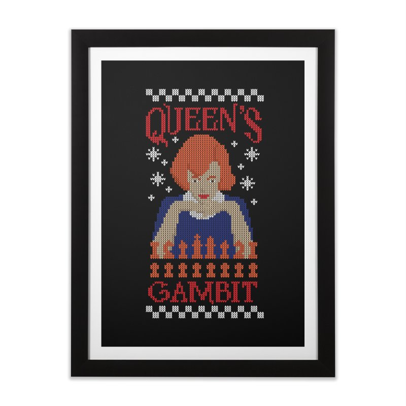 The Queen of Chess Home Framed Fine Art Print by GED WORKS