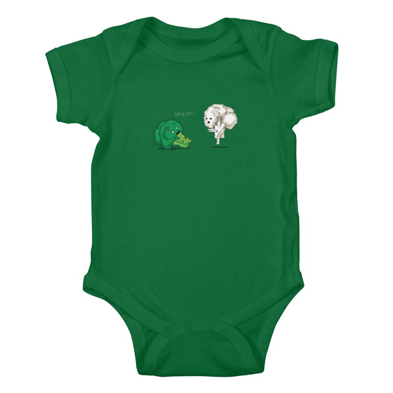 A Vegan Horror Story Kids Baby Bodysuit by GED WORKS
