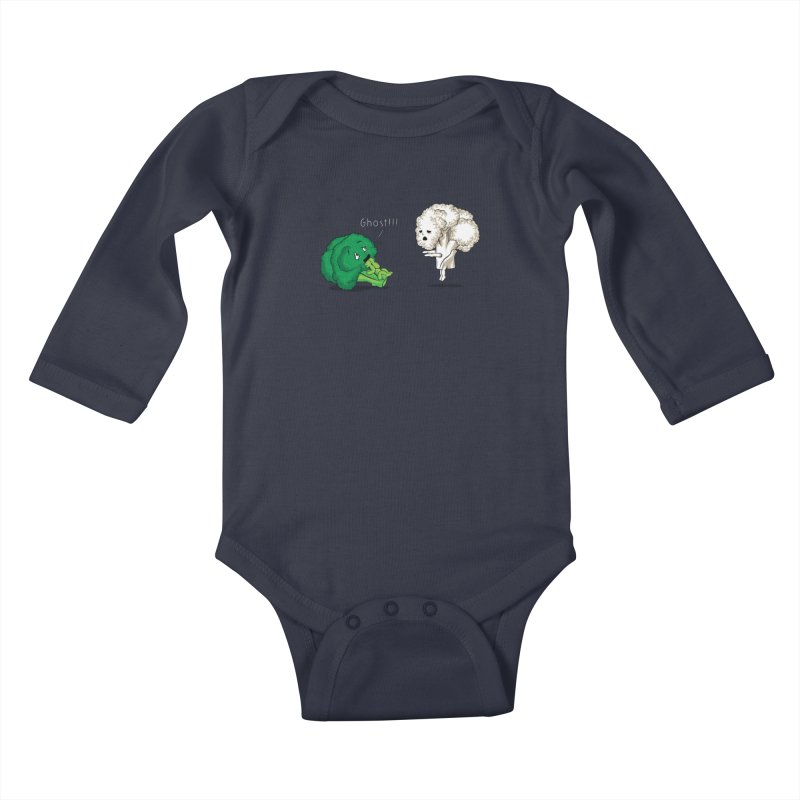 A Vegan Horror Story Kids Baby Longsleeve Bodysuit by GED WORKS