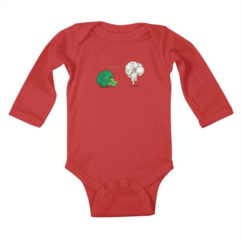 A Vegan Horror Story Kids Baby Longsleeve Bodysuit by GED WORKS
