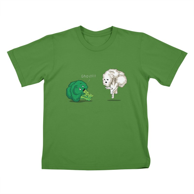 A Vegan Horror Story Kids T-Shirt by GED WORKS