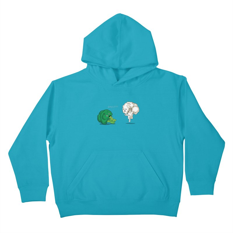 A Vegan Horror Story Kids Pullover Hoody by GED WORKS