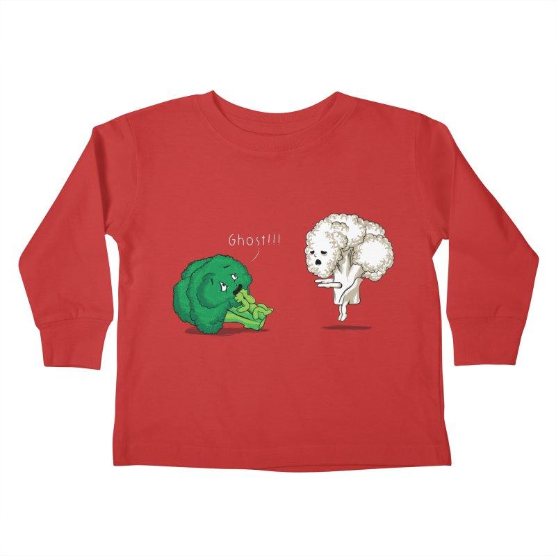 A Vegan Horror Story Kids Toddler Longsleeve T-Shirt by GED WORKS