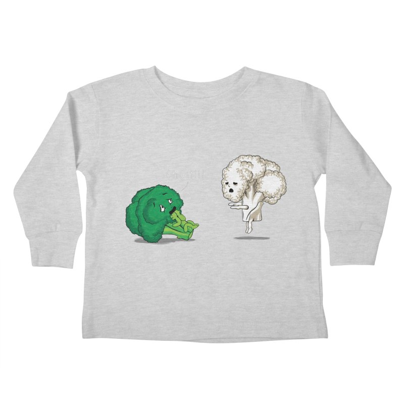 A Vegan Horror Story Kids Toddler Longsleeve T-Shirt by GED WORKS