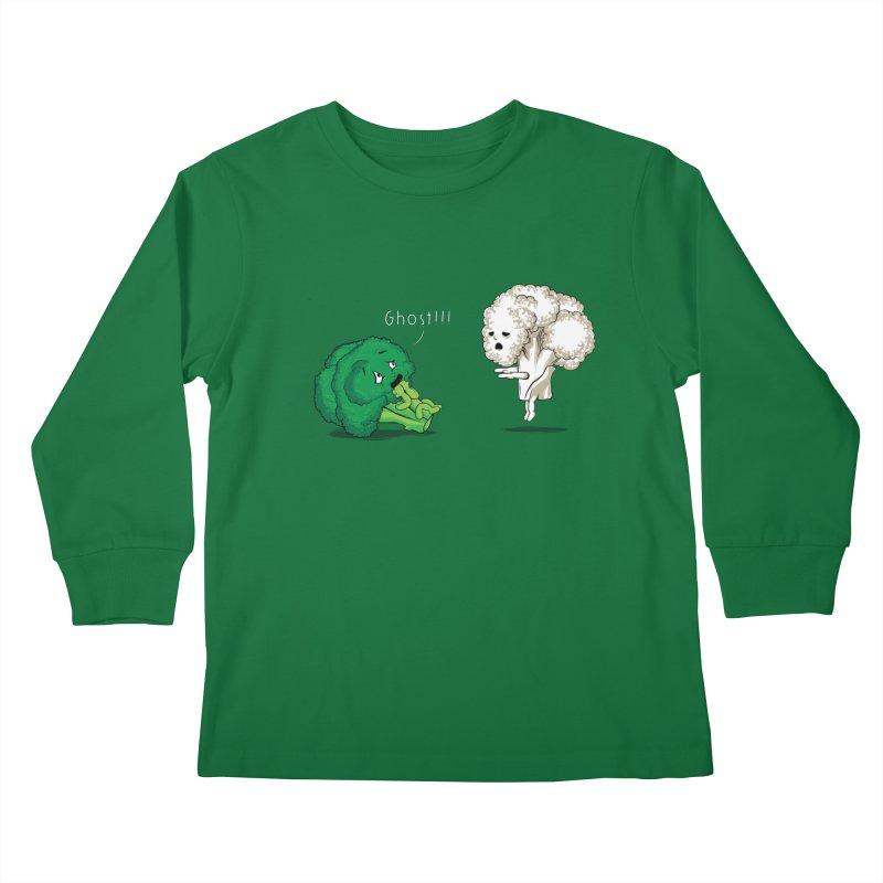 A Vegan Horror Story Kids Longsleeve T-Shirt by GED WORKS