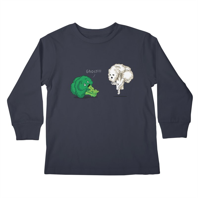 A Vegan Horror Story Kids Longsleeve T-Shirt by GED WORKS
