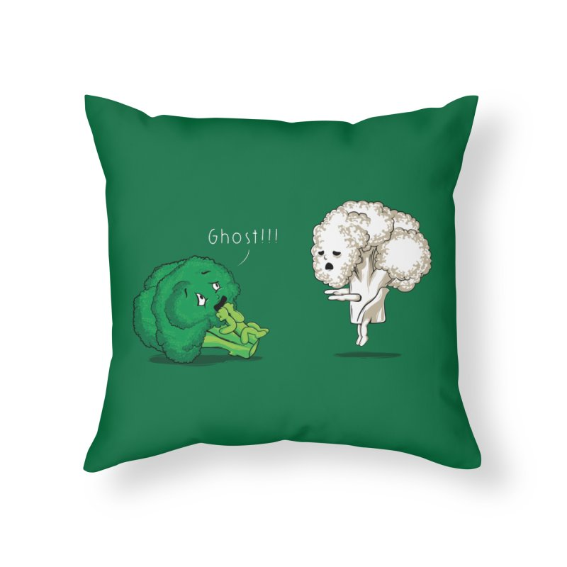A Vegan Horror Story Home Throw Pillow by GED WORKS