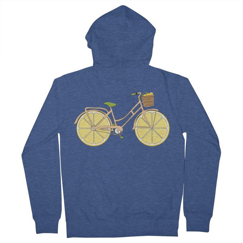 Lemon Ride Women's Zip-Up Hoody by GED WORKS