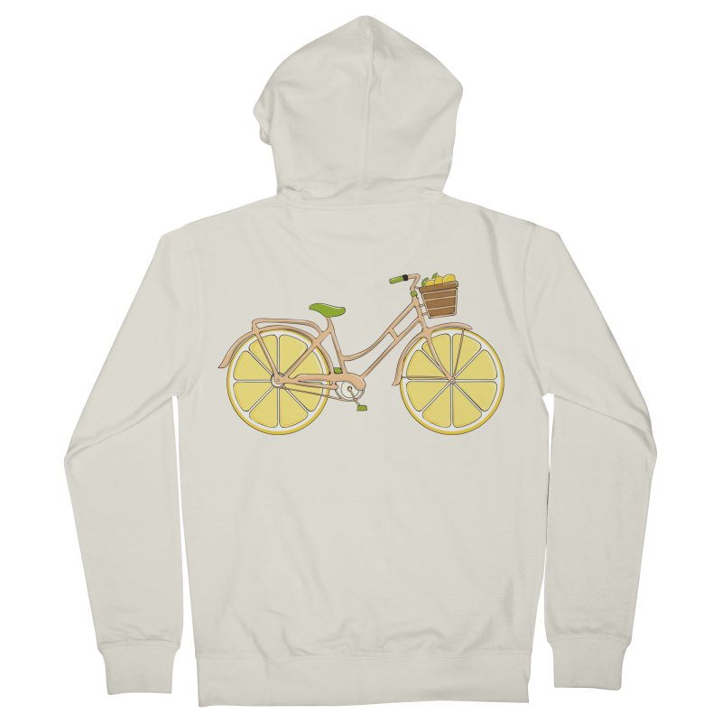 Lemon Ride Women's Zip-Up Hoody by GED WORKS