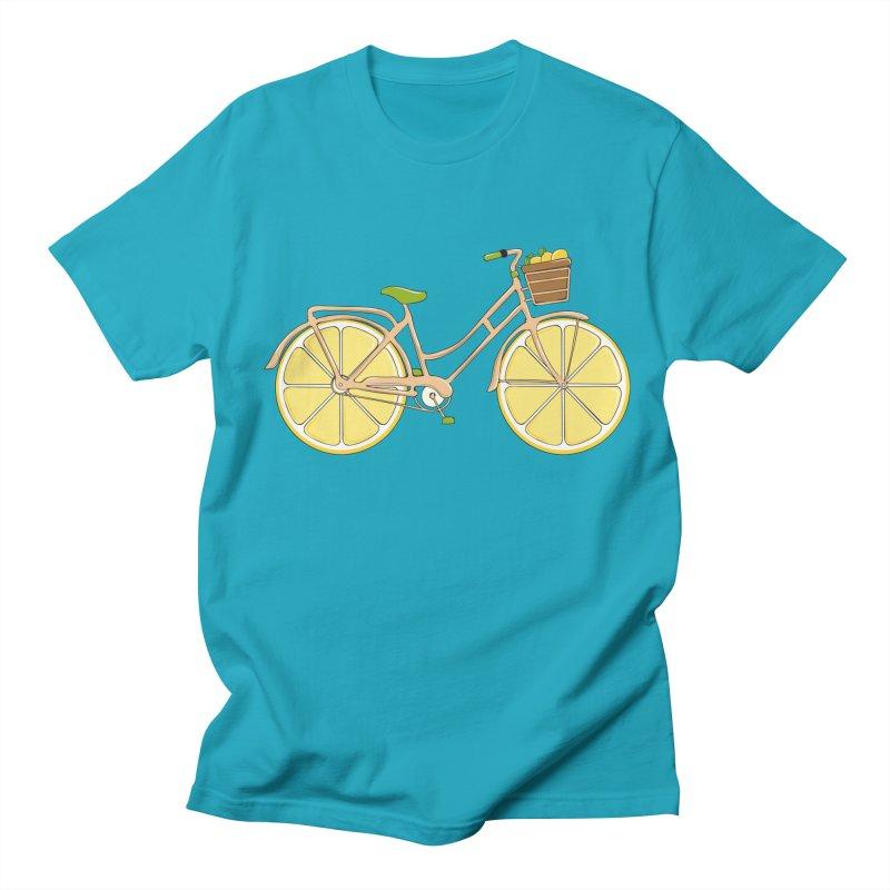 Lemon Ride Women's Unisex T-Shirt by GED WORKS
