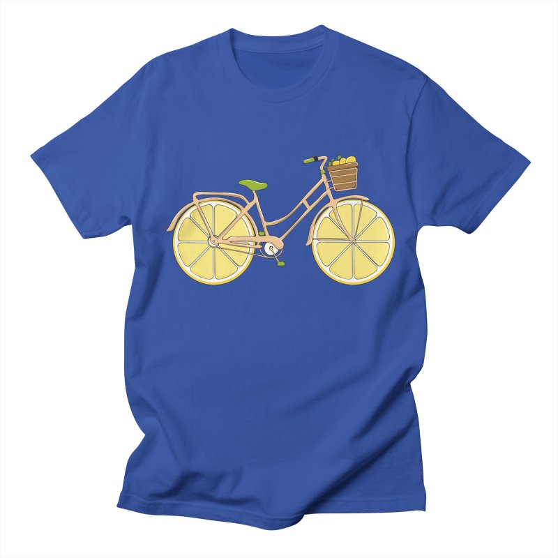 Lemon Ride Women's Unisex T-Shirt by GED WORKS