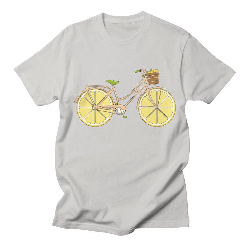 Lemon Ride Men's T-shirt by GED WORKS