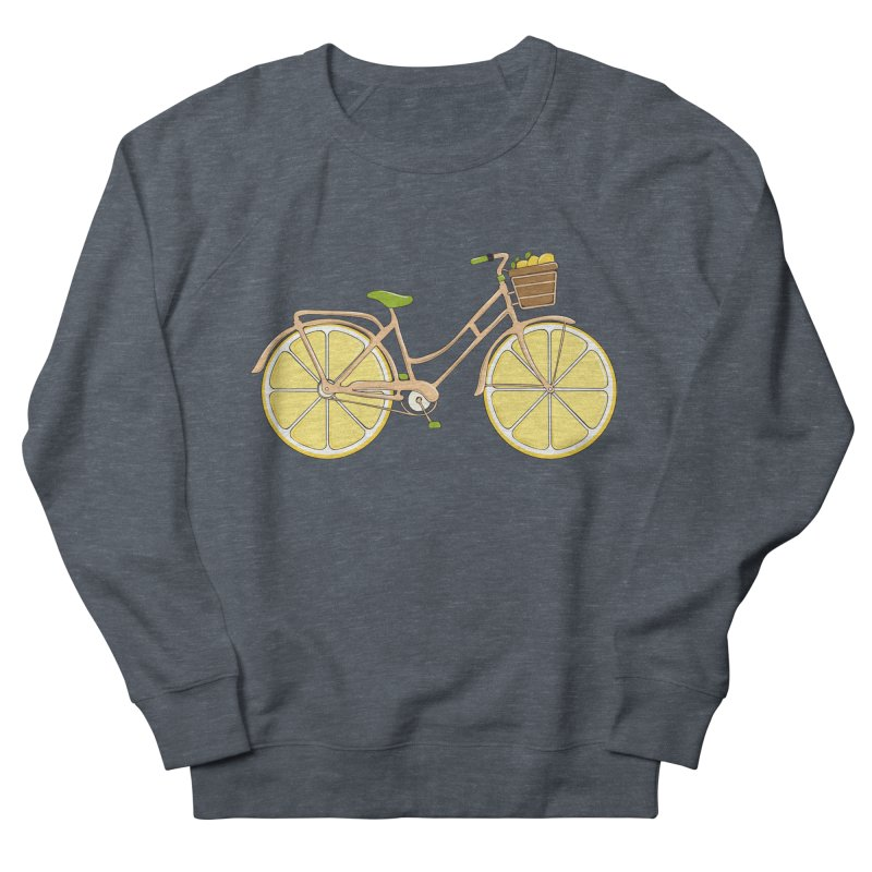 Lemon Ride Women's Sweatshirt by GED WORKS