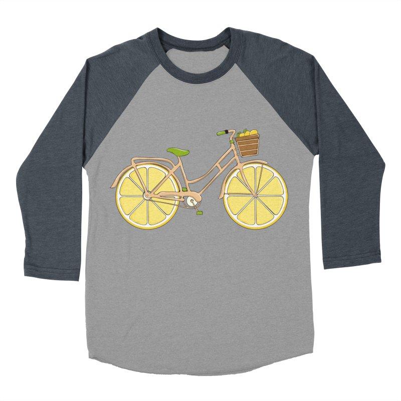Lemon Ride Women's Baseball Triblend T-Shirt by GED WORKS