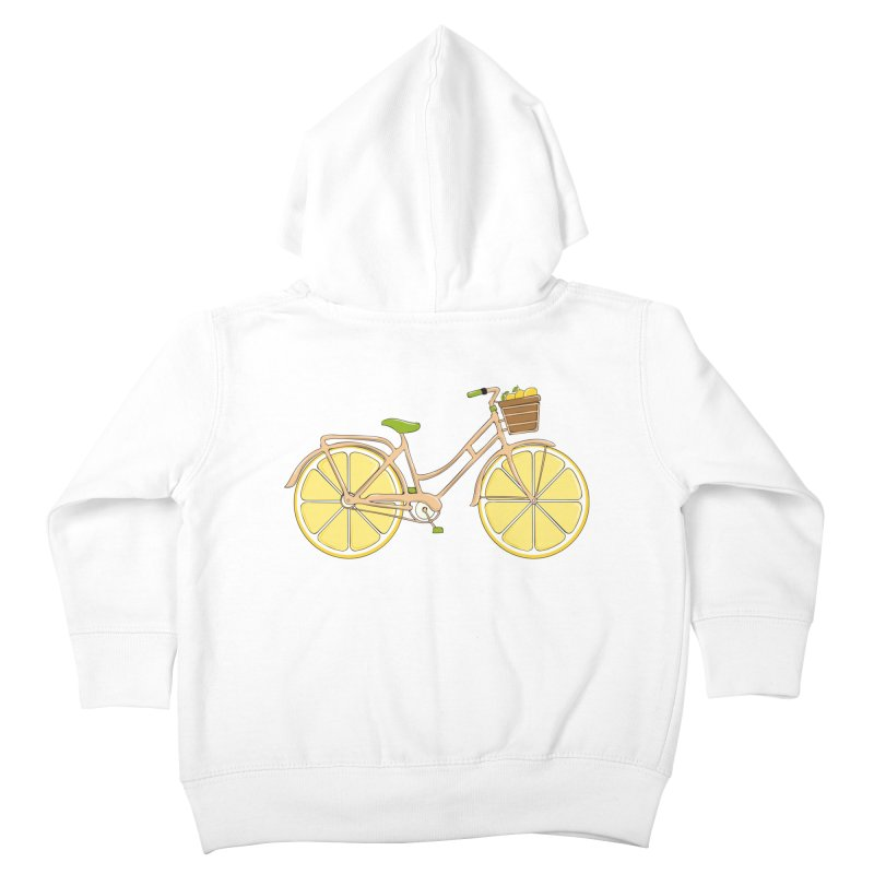 Lemon Ride Kids Toddler Zip-Up Hoody by GED WORKS