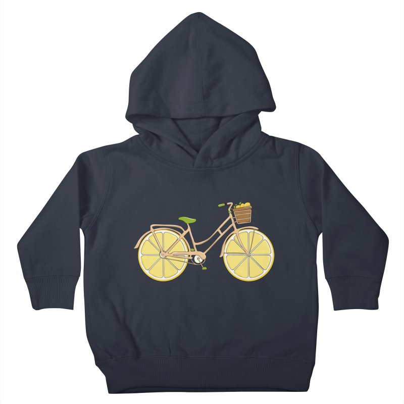 Lemon Ride Kids Toddler Pullover Hoody by GED WORKS