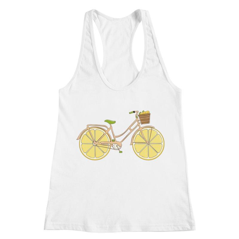 Lemon Ride Women's Racerback Tank by GED WORKS