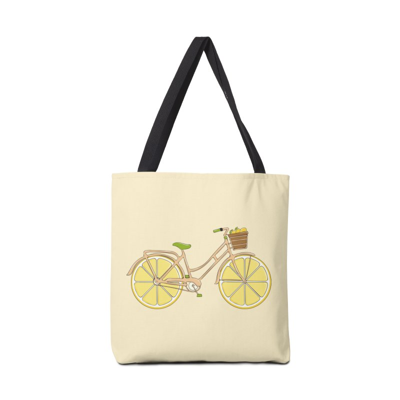 Lemon Ride Accessories Tote Bag Bag by GED WORKS