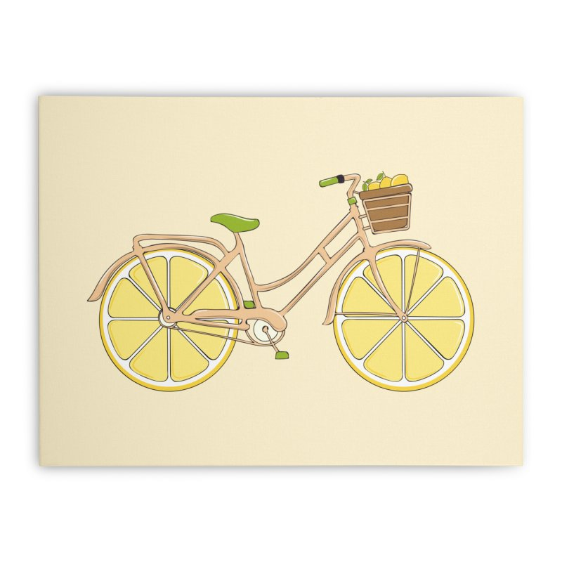 Lemon Ride Home Stretched Canvas by GED WORKS